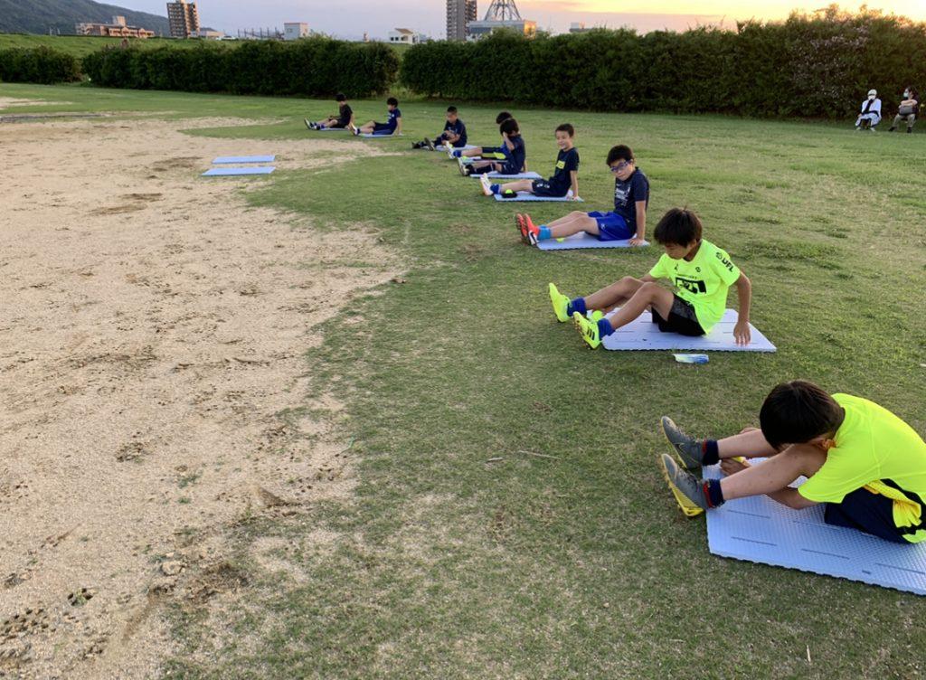 朝日新聞密着取材の中でトレーニング!#4,5,6年